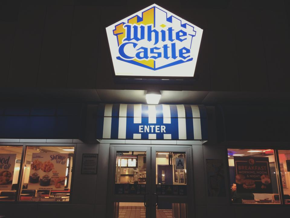 paul and sam go to white castle