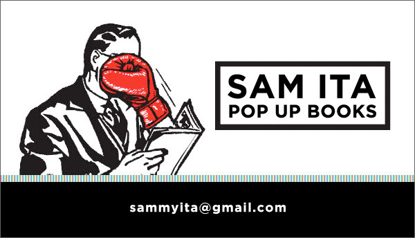 Sam Ita Pop Up Books